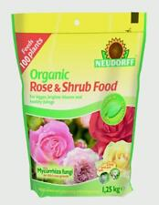 Neudorff 613664 Organic Rose and Shrub Plant Food 1.25kg