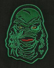 GREEN CREATURE CULT CLASSIC MONSTER MOVIE HORROR FILM ROCKABILLY PATCH Ver 2