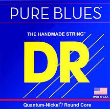 DR Pure Blues Bass Guitar Strings Quantum-Nickel, Round Core 45s Medium PB-45