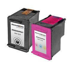 2 CC641WN Black & Color Ink Cartridge for HP 60XL 60 Deskjet D1663 F2483 F4210