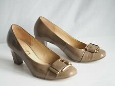 Gabor Shoes 8 Brown Patent Leather