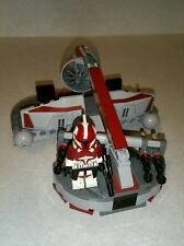 Lego Star Wars Commander Keeli Custom Clone Wars Figure with Swamp Speeder Set