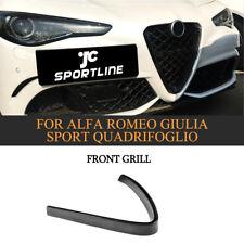Carbon Kühlergrill Emblemrahm Grill Für Alfa Romeo Giulia Sport & Quadrifoglio