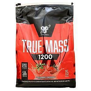BSN True-Mass 1200 Strawberry Milkshake 10.25 lbs