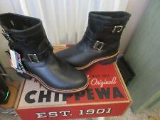 CHIPPEWA ORIGINAL Biker style Boots new with Box