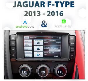 Jaguar F-Type 2013-16 Factory audio Apple CarPlay & Android Auto Integration pk