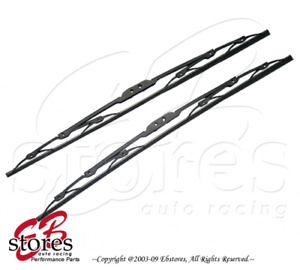 "Set of 2 OEM Replacement J Hook Wiper Blade 19"" Driver Side & 18"" Passenger Side"