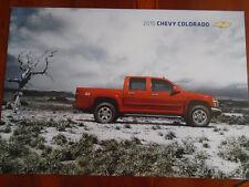 FOLLETO de CHEVROLET COLORADO 2010 USA mercado pequeño formato