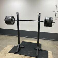 Steel Squat Stands - handmade steel. Bolt together