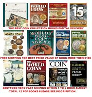 Standard Catalogs of World Coins 12Pcs Coin collection DVD Shipping