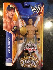 WWE MATTEL CHAMPIONS  JOHN CENA ACTION FIGURE NEW FAN CENTRAL WITH BELT