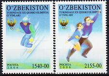 Uzbekistan Olympic Games Turin 2006 MNH-17 Euro
