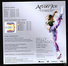 ART ON ICE - 2015 ZÜRICH SWITZERLAND - NELLY FURTADO - TOM ODELL - ST. LAMBIEL