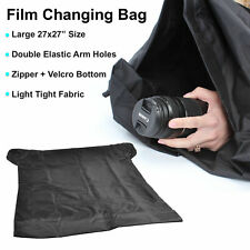 "27x30"" Large Film Changing Bag Dark Room Film Load Photography Darkroom Photo"