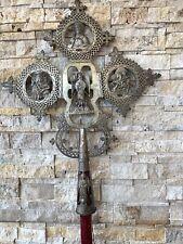 New ListingLarge Antique Russian Procession Crucifix