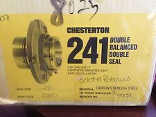 Chesterton 241-20 Double Balanced Double Seal 2500 Shaft Size - 20 Seal Size