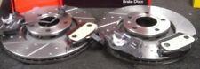 AUDI A4 3.0 Discos De Freno Perforados Ranurado Con Almohadillas Mintex