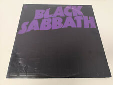 "BLACK SABBATH ""MASTER OF REALITY"" RE US 1971/74 EX/EX NO POSTER"