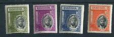 Zanzibar KGVI 1936 Sultan's Jubilee set SG323/6 MNH