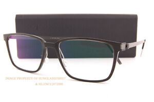 Brand New LINDBERG Eyeglass Frames Buffalo Horn 1821 H20/U9 Dark Brown Titanium