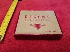 1940s Regent Cigarette Pack Box Case Vtg Advertising Promo Collectible