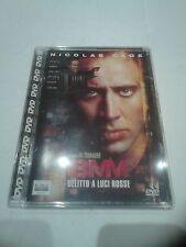 8MM DELITTO A LUCI ROSSE N.CAGE  DVD Jewel Box RARO FUORI CATALOGO -  OTTIMO