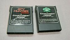 LOT of TWO(2) Spy Hunter & Cabbage Patch Kids Cartridge for ColecoVision & Adam