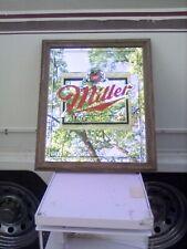 New listing Vintage miller high life beer mirror