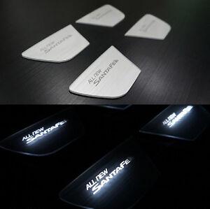 Door LED Inside Catch Plate DIY Kit 4p For 2013 2017 Hyundai Santa Fe SPORT