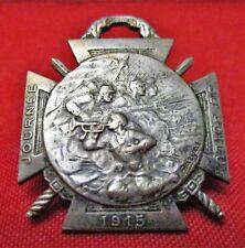 MÉDAILLE JOURNÉE DU POILU 1915 par BARGAS - 25-26 DECEMBRE 1915 - Military Medal