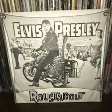 PROMO Roustabout Elvis Presley Picture Sleeve 45 One Track Heart Vince Everett