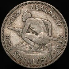 More details for 1933 | new zealand george v one shilling | silver | coins | km coins