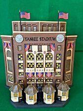Yankee Stadium Dept 56 Christmas in the City Series 58923 retired snow Baseball
