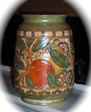 Charlotte Rhead Tube-lined Art Deco Art Pottery Large Vase England 1920s