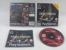 Dino Crisis ps1 Playstation 1 komplett PAL