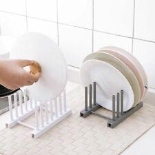 Kitchen Pot Lid Rack Pan Holder Stand Plates Organizer Tool Storage Rest Shelf