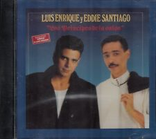 Luis Enrique y Eddie Santiago Los Principes De La Salsa CD USED LIKE NEW