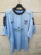 VINTAGE Maillot ANGLETERRE ENGLAND Umbro shirt away Nationwide football XL 192