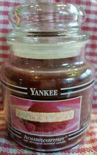 YANKEE CANDLE RASPBERRY SORBET BLACK BAND 14.5 OZ JAR - RARE - BRAND NEW