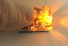 LEGO 1x Lichtstein gelb orange - Light Brick Licht LED Leuchtstein 54930c02