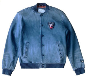 Chevignon denim bomber jacket new with tag Jackets en denim Chevignon France