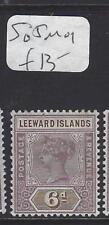 LEEWARD ISLANDS (P1610B)  QV  6D  SG 5   MOG