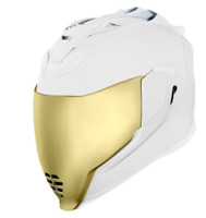 *FREE SHIPPING* ICON  Airflite™ Helmet - Peacekeeper - Rubatone White