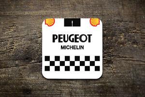 Peugeot Retro Jersey Coaster - Bike Ninja Cycling Retro Road Jersey