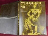 MASTERPIECES of HOYSALA ART by S.K.MAITY/KARNATAKA INDIA/ILLUSTRATED/SCARCE 1978