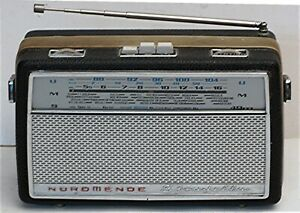 Klassisches Kofferradio Nordmende Stradella, 60er-Jahre, getestet