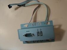 HP Pavilion FRONT I/O PANEL (5065-6099) & cable assembly w/USB & serial ports