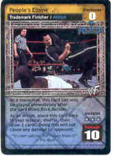 Raw Deal People's Elbow Promo Card The Rock Non Foil