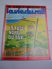vie du rail 1988 2171 TGV NORD VALENçAY éCUEILLé LIMOGES PéRIGUEUX