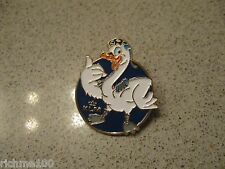 NEW KLM Royal Dutch Holland Airlines Duck / Bird Enamel Brooch / Hat Pin